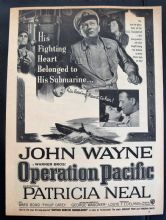 Operation Pacific (1951) - John Wayne | Vintage Trade Ad